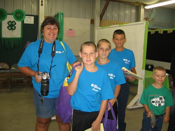 Benton County Fair 4-H Static entries