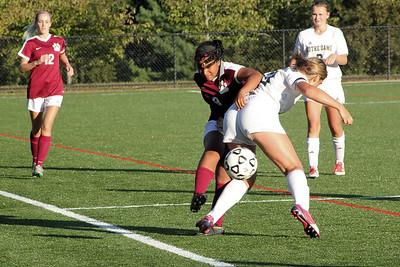 Varsity Girls Soccer vs Notre Dame - 09/27/2016