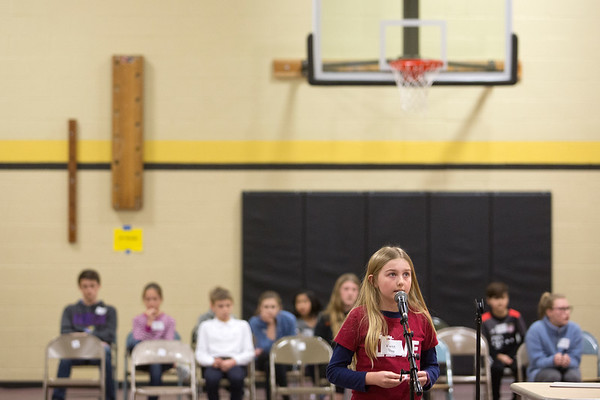 2018 Grand Traverse County Spelling Bee