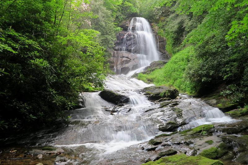 Paradise & Upper Sol's Creek Falls, Jackson County (6-4-15)
