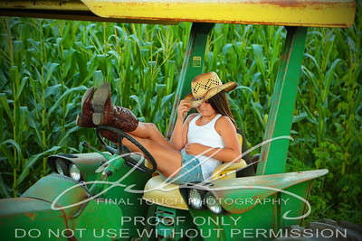 Maggie in Corn