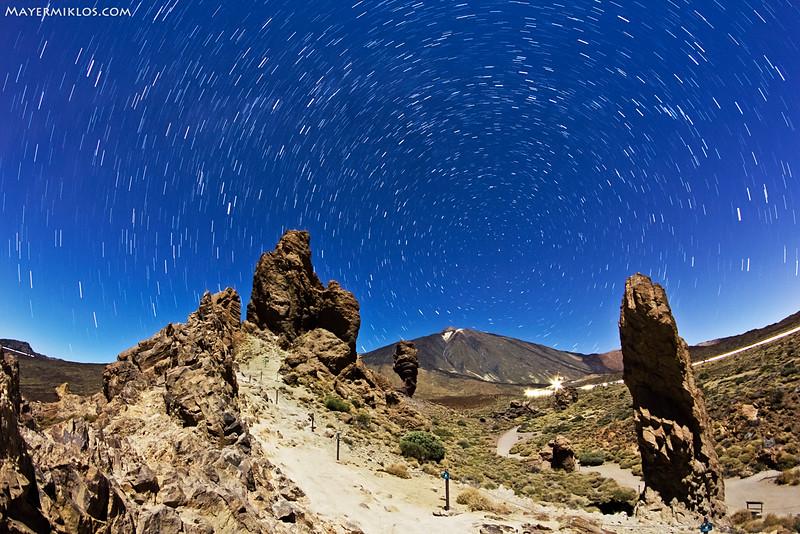 Tenerife timelapse - Felhők tengere