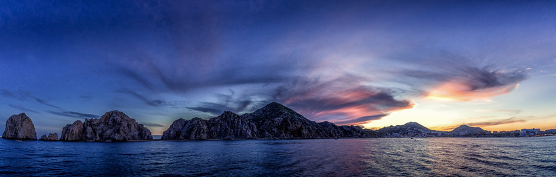 Cabo pano sunset