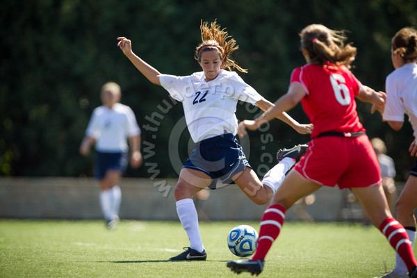 Wheaton College Women's Soccer vs Washington University, September 15, 2012
