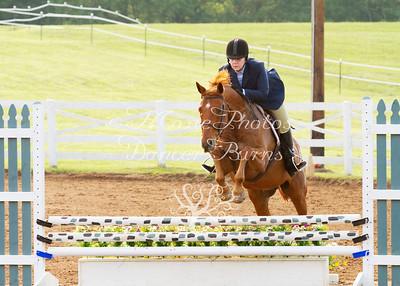 Schooling Hunters Over Fences