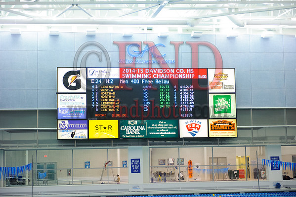2014 Davidson County Swim Meet 12-18-14
