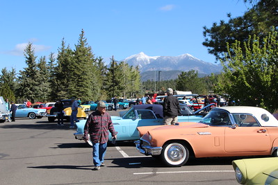 2019  Judging cars, Flagstaff, Bearizona, BBQ