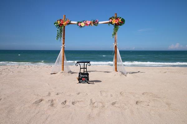 Joanne and Michael's elopement wedding.