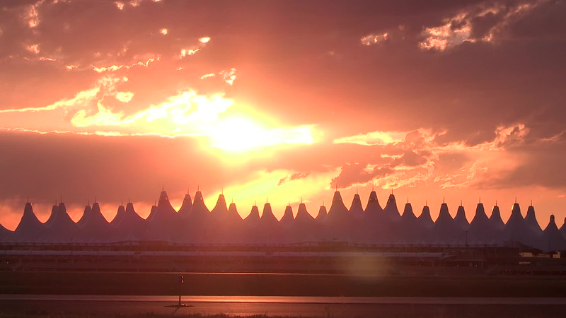 2015 Denver International Airport B-roll