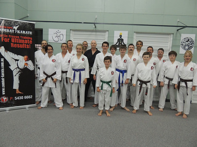 Combat Karate Brown Belts Advanced Course November 2013