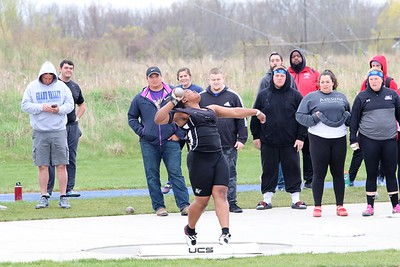 2019-05-03 GLIAC Outdoor Championships - Friday - Women