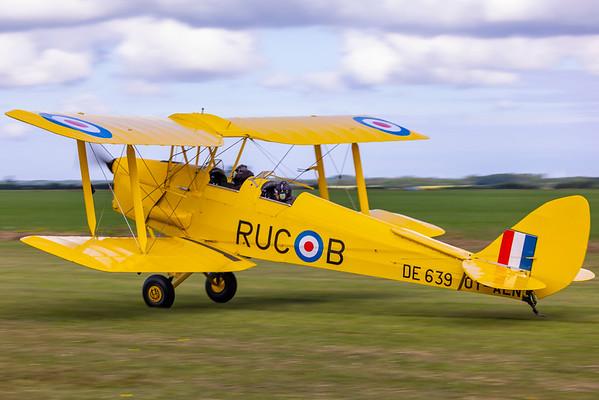 OY-ALN - DH-82A Tiger Moth