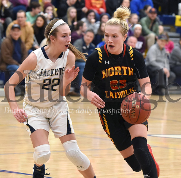 98217 North Catholic vs Freeport in a WPIAL Class 4A Section 1 Girls basketball game