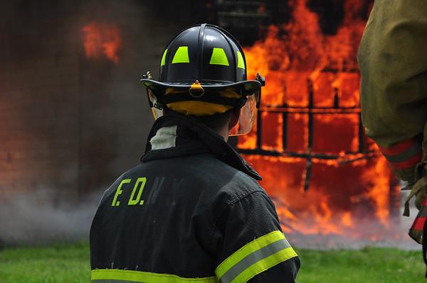 New Madison FD Training Burn (May 2012)
