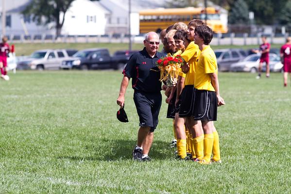 Soccer Senior Day 2011