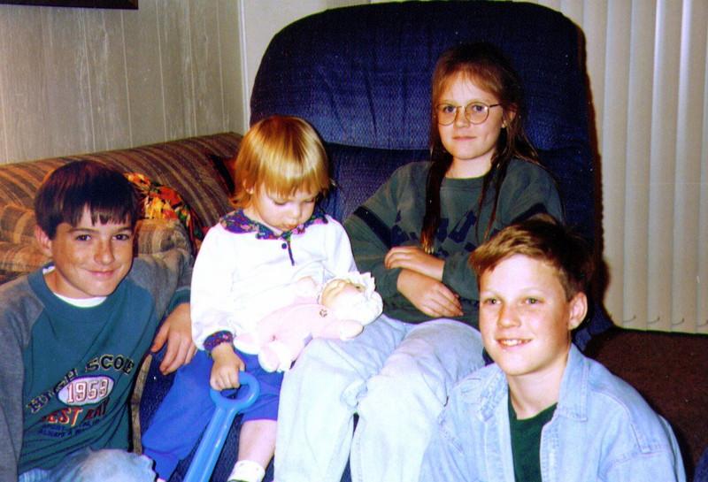 Joe, Alina ,Sophie, Mikey, 1995 .jpg