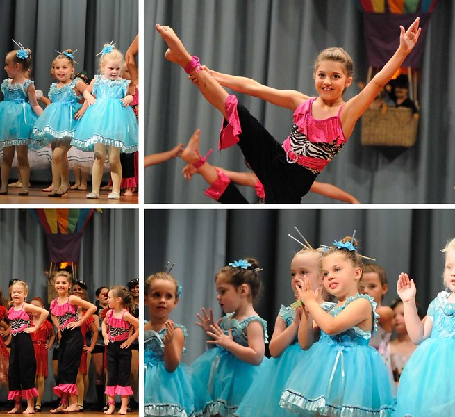 Today I attended my first dance recital.  Two of my great nieces had their first formal recital so our family piled in to cheer them on.  Kayleigh was in the dance for Africa and Kinsley was in the China Doll dance.  It was a lot of fun and they did a wonderful job.