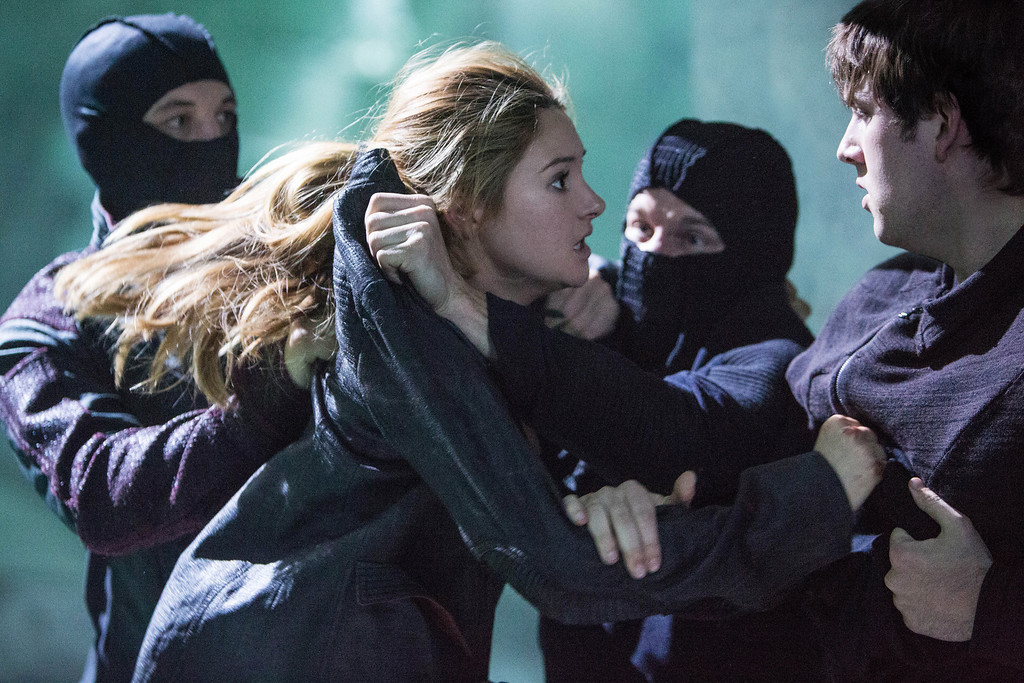 . SHAILENE WOODLEY and CHRISTIAN MADSEN star in DIVERGENT