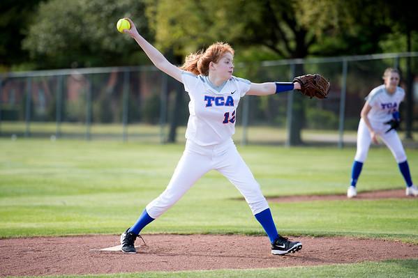 2016-03-22 TCA-Addison - JPII Varsity Softball