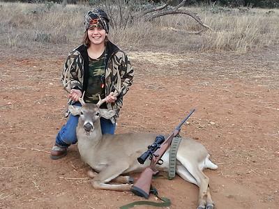 Abby's Christmas Buck 2012