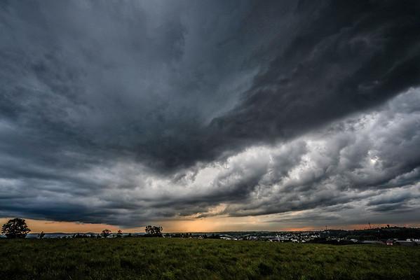 Storm over Hesperange