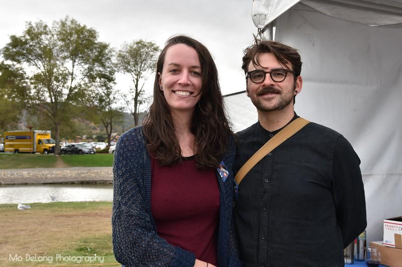 Kelsey Baker and Marcel Voelz