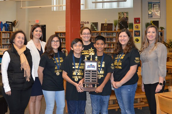 2020/01/22 1st place at Battle of the Books