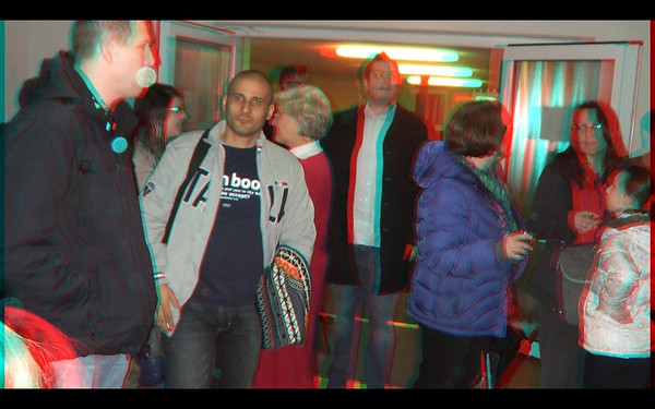 Marvin Russell in Anaglyph Stereo
