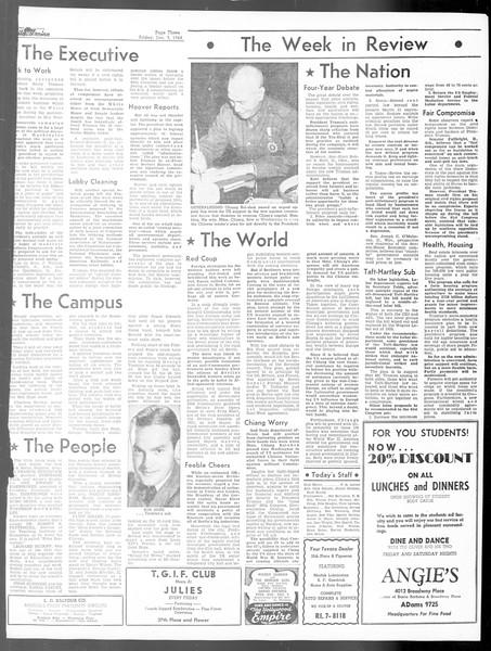Daily Trojan, Vol. 40, No. 57, December 03, 1948