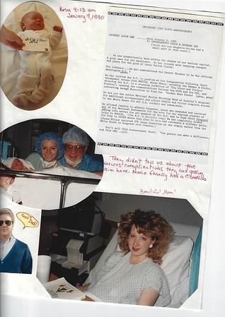 Barbara Lee's scrapbook 1990-1995