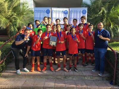 PRHSAA Championship JV Soccer Boys  |  Fall 2018