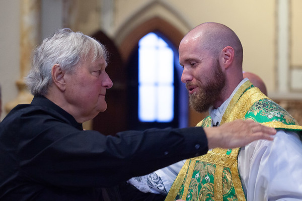 Solemn Mass of Thanksgiving July 4, 2021 celebrated by recently ordained Rev. Albert Betz