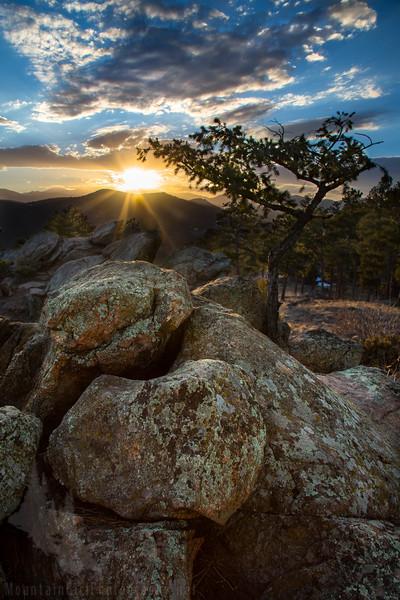 Mt Falcon Sunset Rocks