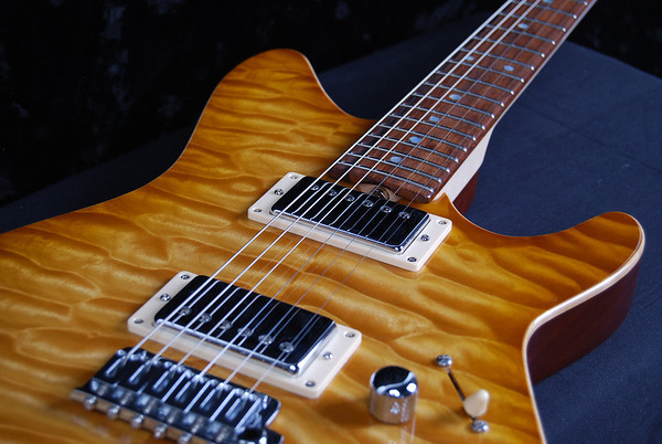 TurboJet, Vintage Maple Burst, HH Pickups