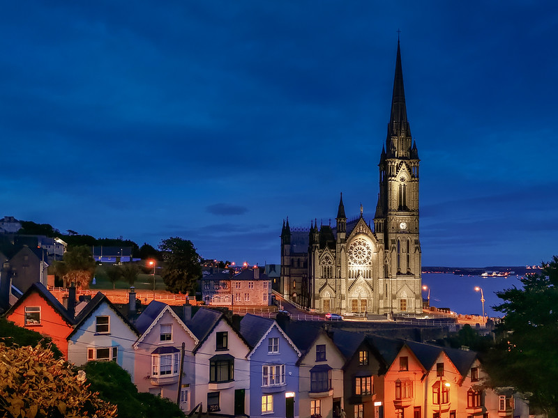 St. Colman's Cathedral and Westview, Cobh