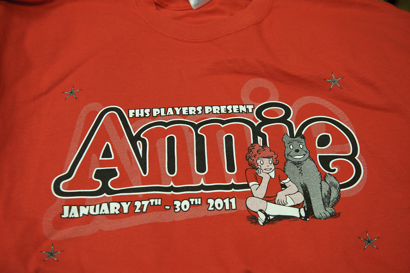 T-shirts were distributed at this rehearsal. I should figure out a way to get in line for one of these.