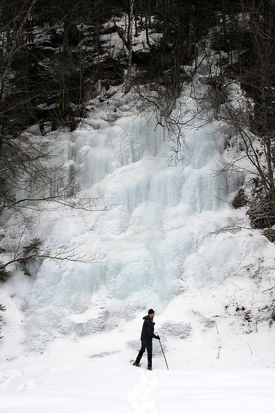 Along Crooked Creek past Arabian Vault falls