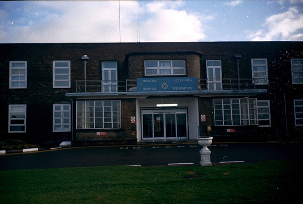 RAF Wroughton Hospital 1995.