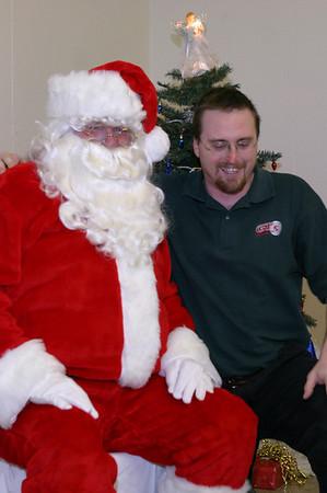 PPD Christmas and Santa,  December 10, 2004