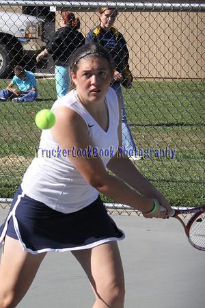 2009 Girls Tennis / Fostoria