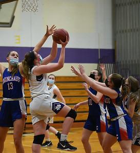 North Branford Girls' Basketball Drops Contest to Coginchaug