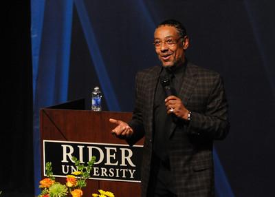Giancarlo Esposito visits Rider