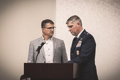 Colonel Matthew Boschert Retirement (16Jul2021)