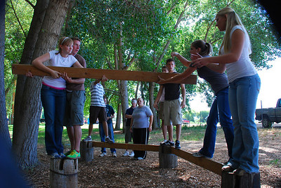 CLAS Ropes Course 2007