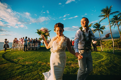 Eric and Cat // Mauna Kea Beach Resort