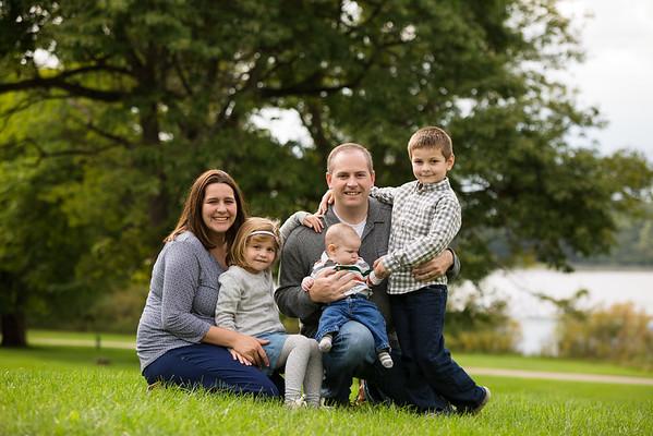 Parchment Park Fall Family Portraits Rabbitt