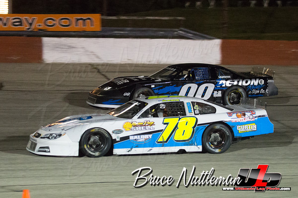 TUNDRA SUPER LATE MODELS-LaCrosse Speedway, July 1st, 2016