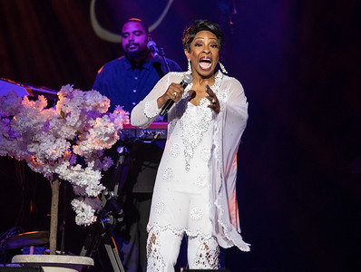 Gladys Knight at The M&s Bank Arena, Liverpool