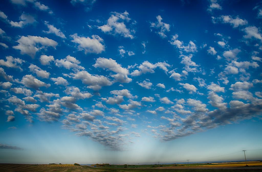 Clouds in Blue 2