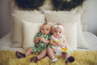 Pierce and Katie - 4 Months
